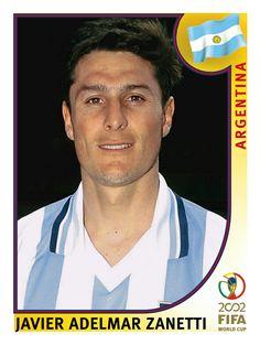 392 Javier Adelmar Zanetti - Argentina - FIFA World Cup Korea/Japan 2002