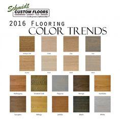 Popular Hardwood Floor Colors 2016