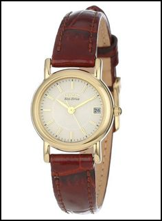CITIZEN EW1272-01P ECO-DRIVE GOLD-TONE – WOMEN'S WATCH
