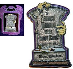 I have this pin, it's one of my favorite Haunted Mansion Disney Trading Pins!