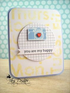Card made by Joy Taylor http://simonsaysstampblog.blogspot.com/2012/02/you-are-my-happy.html