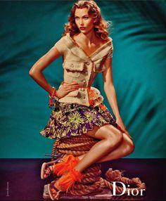 Karlie Kloss by Steven Meisel for Dior Spring 2011 Campaign