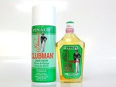 PINAUD CLUBMAN SHAVE CREAM ALOE VERA SHAVING cream & AFTER SHAVE LOTION 12/6OZ