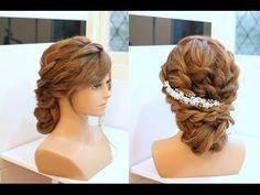 Beautiful Curly Updo for that special occasion. This WILL be my wedding hair