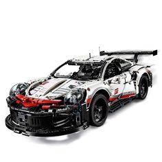 LEGO Technic Porsche 911 RSR (42096) Lego Machines, Porsche 911 Rsr, Lego Builder, Lego Models, Porsche Design, Lego Technic, Lego Pieces, Cool Lego, Luxury Cars