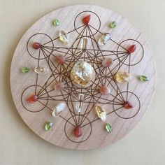 'Happiness' Crystal Grid