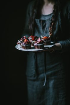 Before I dive into these blood orange-infused chocolate cupcakes, I want to give you a head's up that this post is going to be a little bit personal, so if you're more interested in the recipe feel free to scroll down past the next few paragraphs. I'll be honest, guys—last year was pretty intense....