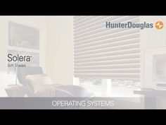 Learn about all of the operating systems available for Solera® Soft Shades.  Solera Soft Shades feature a unique cellular construction with a complete fabric offering in fashion forward colors, textures and patterns.