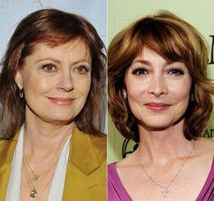 Celebrity Look-Alikes-Susan Sarandon&Sharon Lawrence
