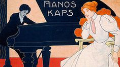 Vintage Ads Art - Advertisement for Kaps Pianos by Hans Pfaff