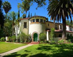 Spanish Colonial Revival designed by Ben Sherwood