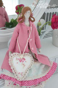 Кукла Тильда Берти - розовый,тильда,кукла ручной работы,кукла Тильда,кукла текстильная