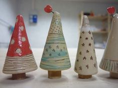 Newest Absolutely Free clay ornaments designs Thoughts Xmas trees Xmas trees Mehr The post Xmas trees appeared first on Salzteig Rezepte. Ceramic Christmas Decorations, Ceramic Christmas Trees, Xmas Trees, Christmas Clay, Christmas Projects, Christmas Ideas, Ceramics Projects, Clay Projects, Ceramic Clay