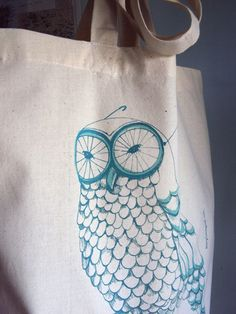 Owl tote - Mary Lundquist