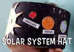 Solar System Hat Activity for Kindergarten