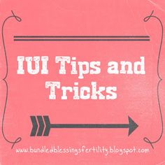 Bundled Blessings Fertility Foundation: IUI Tips and Tricks