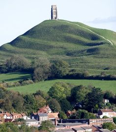 Ancient Celts believed that Glastonbury Tor was the home of the King of the Underworld. (From: Photos: Beautiful Sacred Places Around the World)  *need to source this (KA)