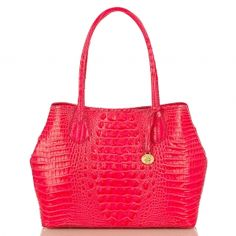 Light weight, simple and chic. The #brahmin anytime tote in amalfi. New for #spring2013 love this!