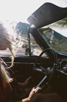 Freedom is feeling the fresh air on your face and the wind blowing through your hair.