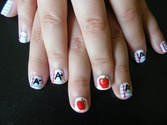 Back to school nails!!