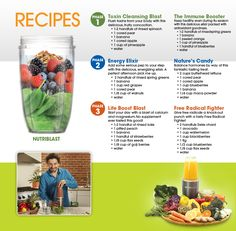 smoothie recipes (for my vitamix)
