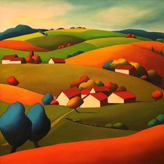 """""""Over the Next Hill and We'll Be Home"""" ~ by Anne Cady"""