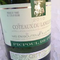 Great #LanguedocDay value wine - 2010 Hugues Beaulieu Picpoul de Pinet for $11