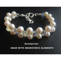 fantastisches Echtsilber Armband Rosenquarz Perle
