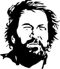 Bud Spencer Illustrazione