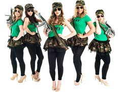 Army Theme To Make The Boys Stand Attention P Hen Night