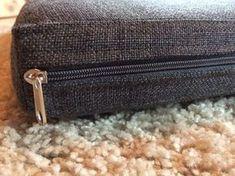 [DIY / Tutorial] - Sitzkissenbezug/Sitzbezug für eine Bank nähen [DIY] - Coudre housse de coussin / housse de siège pour un banc Sewing Pillows, Diy Pillows, How To Make Pillows, Sofa Pillows, Seat Cushions, Throw Pillows, Diys, Diy Pillow Covers, Kitchen Benches