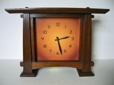 Stickley Style Clock $398
