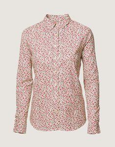 Troelstrup AW14. Viyella skjorte med småblomstret mønster // Viyella shirt with floral pattern