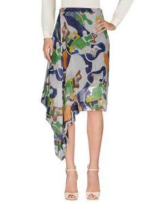 MSGM Knee Length Skirt. #msgm #cloth #dress #top #skirt #pant #coat #jacket #jecket #beachwear #