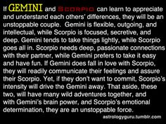 The Astrology Guru - Gemini compatibility with Scorpio Scorpios can be VERY possessive and suffocating in a relationship which is why I tend to think they're maybe not a good match overall for Geminis given that Geminis like their space and freedom! Gemini And Scorpio Compatibility, Zodiac Signs Gemini, Taurus And Gemini, Gemini Facts, Zodiac Facts, Scorpio Horoscope, Aquarius, Pisces, Gemini Relationship
