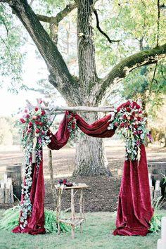 90 glamorous burgundy wedding ideas 45