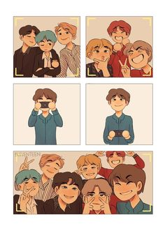 So cute fanart✨✨💜 Bts Kawaii, Nct, Fanart Bts, Fandom, Idole, Dibujos Cute, Bts Drawings, Fanarts Anime, Bts Chibi
