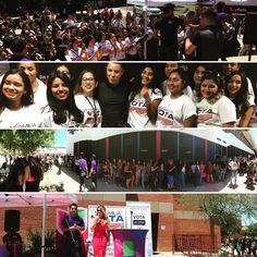 Los estudiantes de Metro Tech High School pasaron un día genial al lado de @jonatansanchez