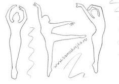 трафарет балерины из бумаги распечатать: 18 тыс изображений найдено в Яндекс.Картинках