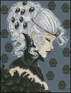 Woman in black 1/6
