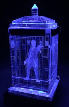 Doctor Who Twelfth Doctor Crystal Tardis                              …