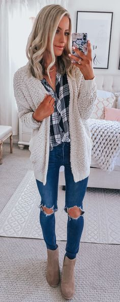 45 Trendy Fall Outfits To Copy ASAP 15 Fall Outfits ideas for Winter fashion 2019 my love fall fashion Trendy Fall Outfits, Komplette Outfits, Fall Winter Outfits, Autumn Winter Fashion, Summer Outfits, Fashion Outfits, Womens Fashion, Fashion Trends, Fall Fashion