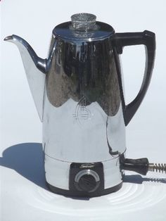 Upcycled Vintage Coffee Percolator Lamp with by BenclifDesigns