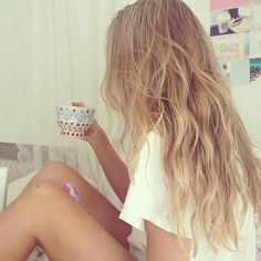 Ideal hair. But I just love the colors I have now. It's so tough!
