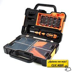 Caja de herramienta de reparación 44 en 1... #herramientas