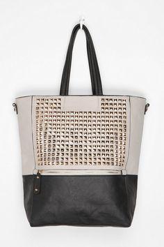 Deena & Ozzy Stud Tote Bag....OBSESSED