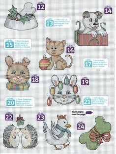 http://www.liveinternet.ru/users/3971977/post272162973/.             Several pages of counted cross stitch pages