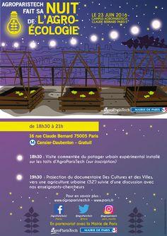 AgroParisTech fait sa nuit de l'agro-écologie #nuitagroecologie http://www.pariscotejardin.fr/2016/06/agroparistech-fait-sa-nuit-de-l-agro-ecologie/