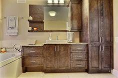 Double Vanity, House Design, Bathroom, Kitchen, Construction, Inspiration, Home Decor, Washroom, Luxury Bathrooms