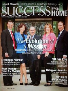 Success From Home magazine Youngevity Nutrients Standard of living Job security Health And Nutrition, Health And Wellness, Success Magazine, Photos For Facebook, Job Security, Natural Solutions, House And Home Magazine, Life Science, Fibromyalgia